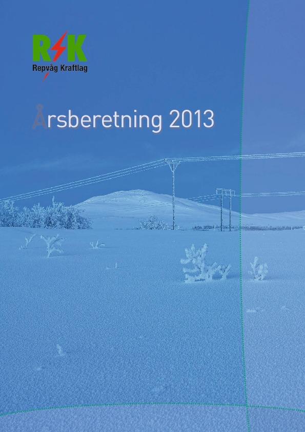 Årsberetning 2013 forside